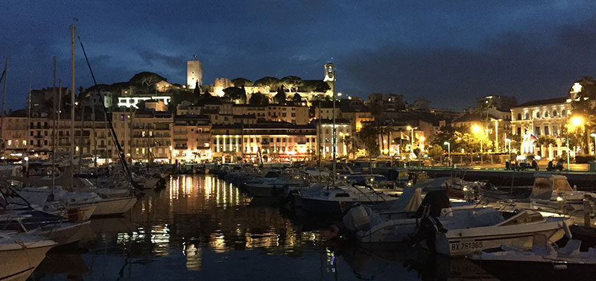 Weekend in barca a vela a Cannes