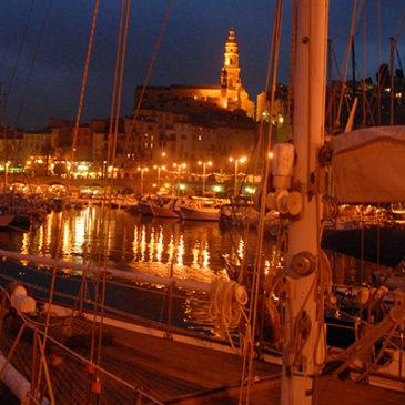 Ponte di Ognissanti in barca a vela
